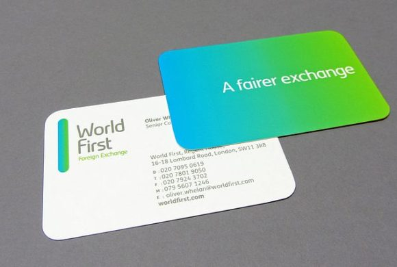 World First Business Card