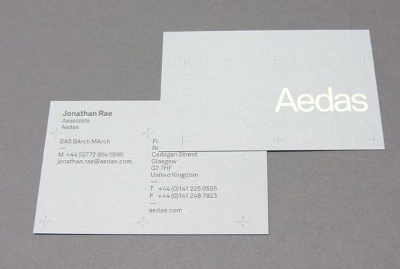 Embossed business cards archives freestyle print london printers uk aedas business card reheart