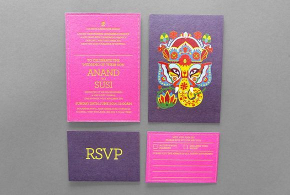 Anand & Susi Wedding Invite