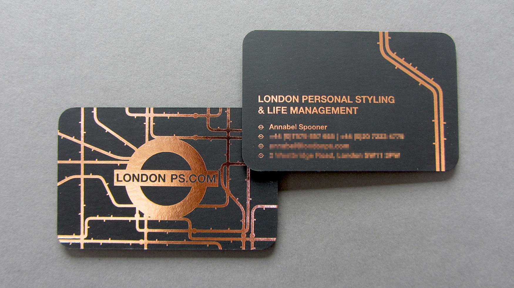 London PS Business Card - Freestyle Print London Printers UK