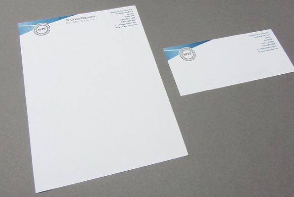 Wilbraham Place Practice Stationery