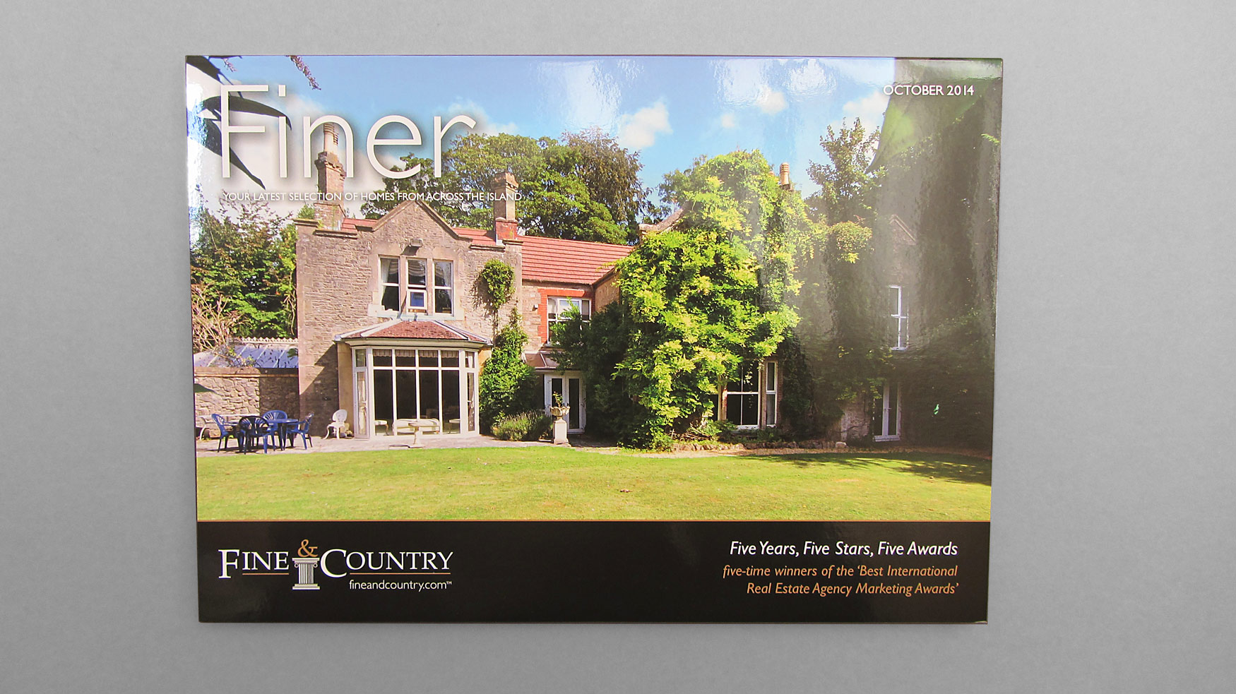 Ward and Partners for Fine & Country Brochure - Freestyle
