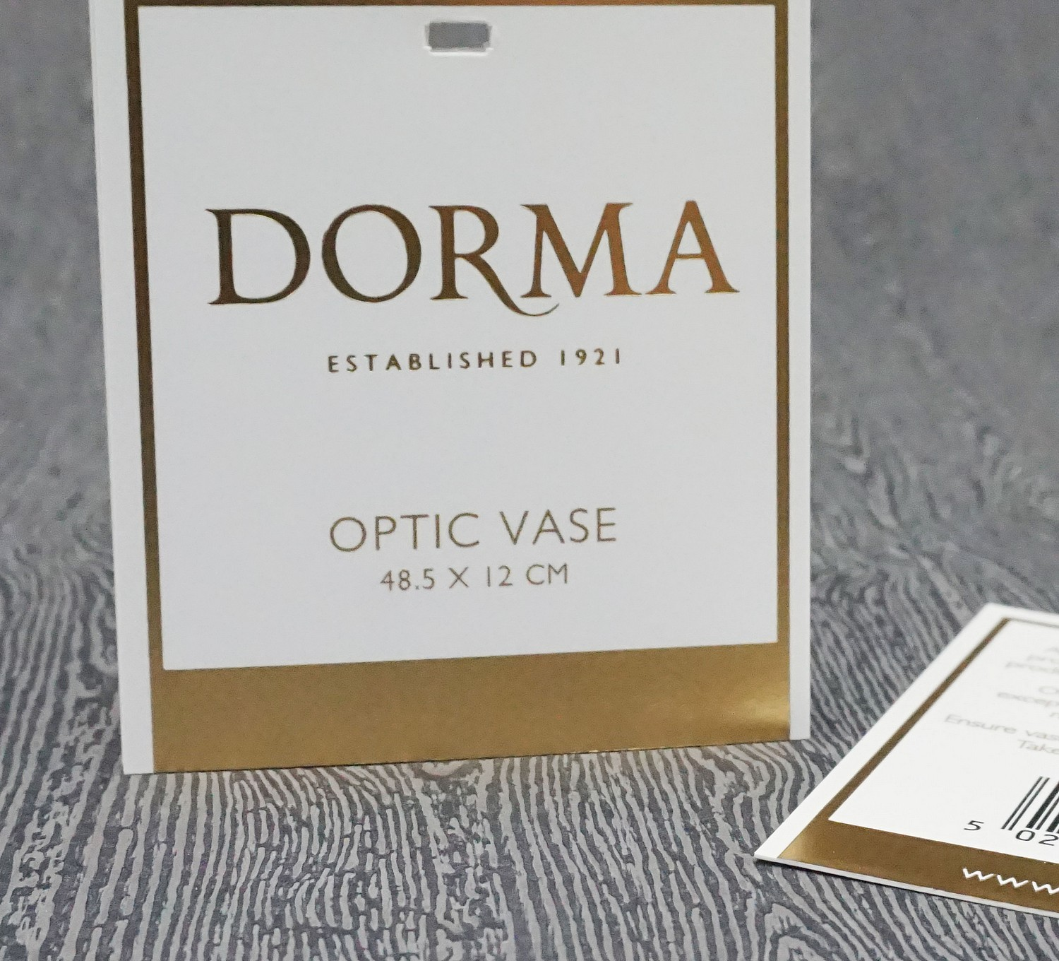 Gold Foiled Swing Tags for Dorma